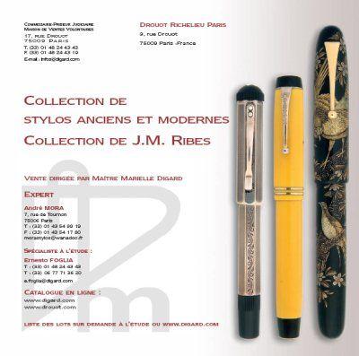 STYLOS ANCIENS ET MODERNES, COLLECTION DE J.M. RIBES