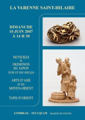 NETSUKES & OKIMONOS DU JAPON XVIIIe ET XIXe SIÈCLES
