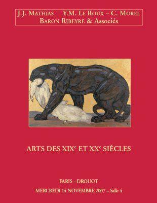 ARTS DES XIXe ET XXe SIÈCLES
