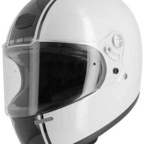 ASTONE GT Retro Casque Moto Vintage Noir et Blanc Taille L Casque moto intégral …