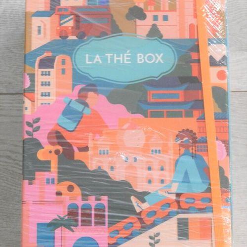 60 LA THE BOX Lot de 2 coffrets gourmands de mars 2021 Le Grand Voyage Différent…