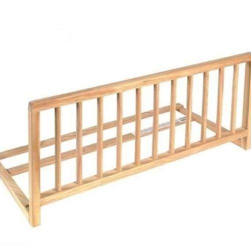 40 NIDALYS Barriere de lit en bois naturel Livia L120 cm x H40 cm Produit Neuf