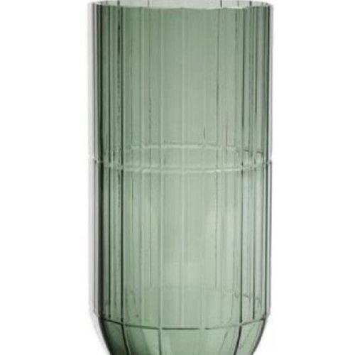 32 HAY Vase en verre de Scholten & Baijings XL Hauteur 27 cm Diametre 13 cm colo…