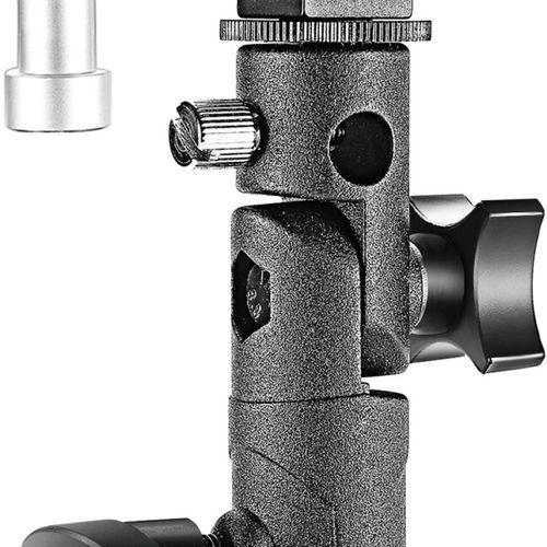 105 NEEWER Lot de 8 Supports Lumière Pivotants pour appareil photo Canon Nikon P…