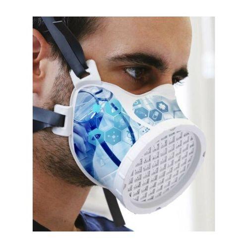 80 MICHELIN Ocov 100011AA Lot de 48 masques de protection réutilisable FM P1 cha…