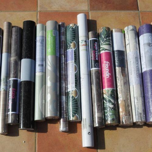 83 FREUNDIN FERM LIVING VERBAUDET Lot de 19 pièces décoration Papier peints, sti…