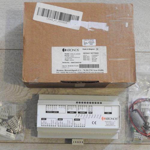 68 KRONOS Terminal de contrôle d'accès via ethernet CMAS IU 000002E Produit Neuf…