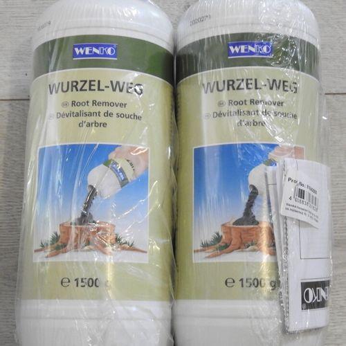 99 WENKO Lot de 2 Pots de 1,5kg de Dévitalisant de Souche d'Arbre soit 3kg Produ…