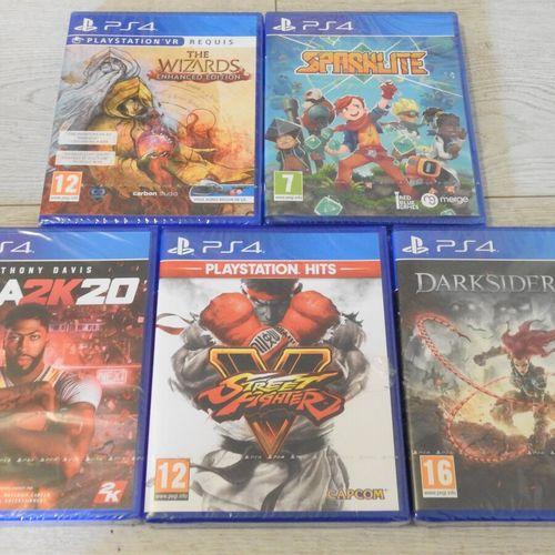 10 Lot de 5 Jeux vidéos pour console Playstation 4 et Playstation VR Darksiders …