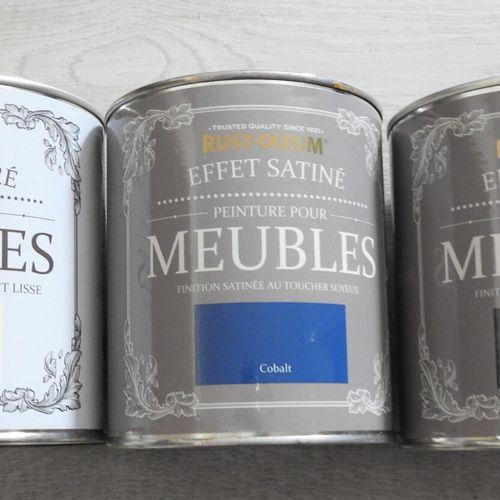 96 RUST OLEUM Lot de 3 Pots de Peinture pour Meubles 1x Peinture pour meubles Co…
