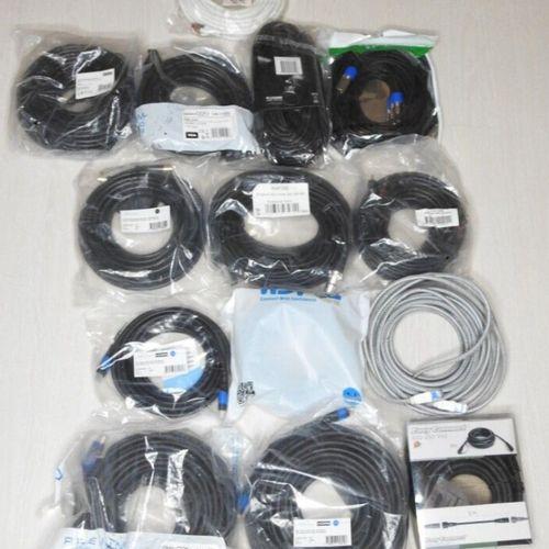 9 EASY CONNECT DELEYCON KABELDIREKT Lot de 14 pièces câbles Electroniques, vidéo…
