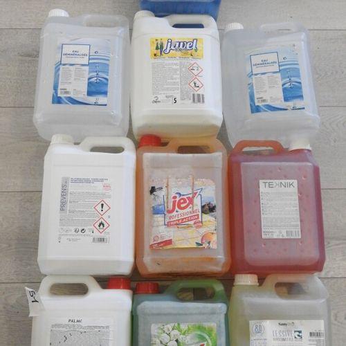 51 AJAX JEX PALMOLIVE Lot de 10 produits ménagers 2x Nettoyant Désinfectant pour…