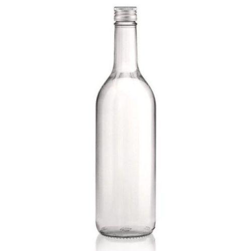 27 Lot de 24 bouteilles en verre allégée clair (vides) Bordeaux 750ml bouchon à …