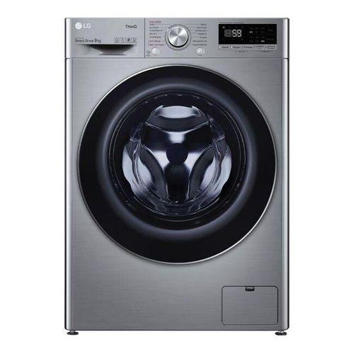 Lave linge hublot LG F94V52IXS L x H x P : : 60 x 85 x 62 cm Capacité XL (9kg) T…