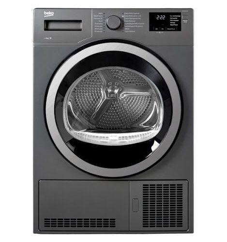 Sèche linge à condensation BEKO DS8133GX1M echnologies : Sensor • Aquawave Charg…