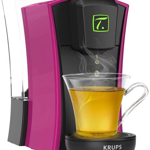 KRUPS YY4123FD Machine à thé à capsules Spécial.T MINI.T Fushia En l'Etat Non Ga…