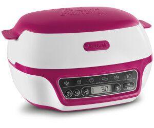 TEFAL KD801811 Cake Factory Machine intelligente à gâteaux Blanc/Rose TEFKD80181…