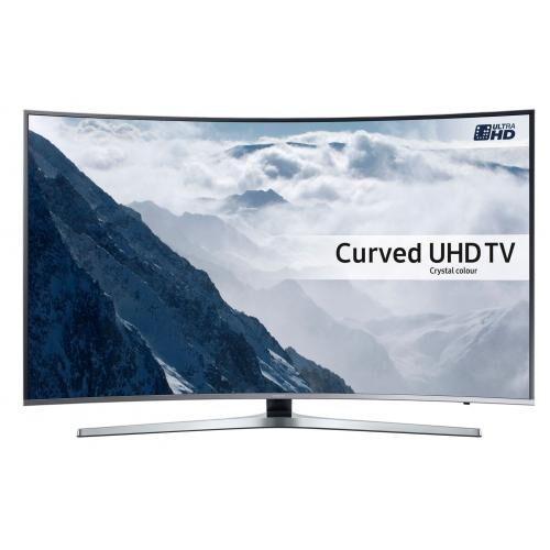 "TV SAMSUNG UE65KU6680 4K HDR 1600 PQI INCURVE Diagonale : 163 cm (64"") incurvée …"