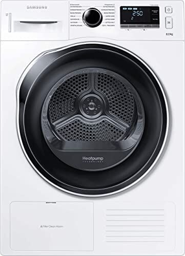 Sèche linge Frontal SAMSUNG DV80K6010CW Pompe à chaleur Capacité 8 Kg Tambour in…