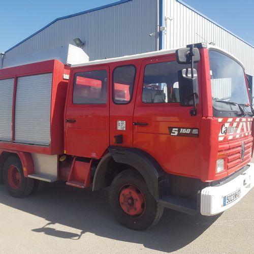 S160 Midliner 6cyl 5L5 115Kw Camiva Pompier VASP RENAULT S160 Midliner 6cyl 5L5 …