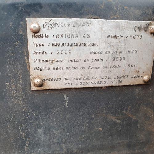 EPAREAUSE NOREMAT AXIONA 45 . EPAREAUSE NOREMAT AXIONA 45 N° série type : MC10 D…