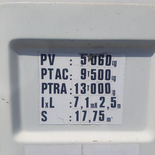 S160 MIDLINER 120cv CAM RENAULT S160 MIDLINER 120cv Carrosserie : PLATEAU N° sér…