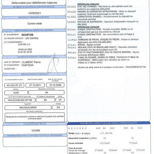 S4 3.0 TFSI V6 QUATTRO 24V 333cv VP AUDI S4 3.0 TFSI V6 QUATTRO 24V 333cv 3.0TFS…