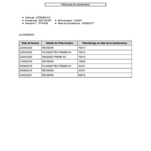 C3 1.6 Blue HDI S&S 75ch Deriv VP VASP CITROEN C3 1.6 Blue HDI S&S 75ch Deriv VP…
