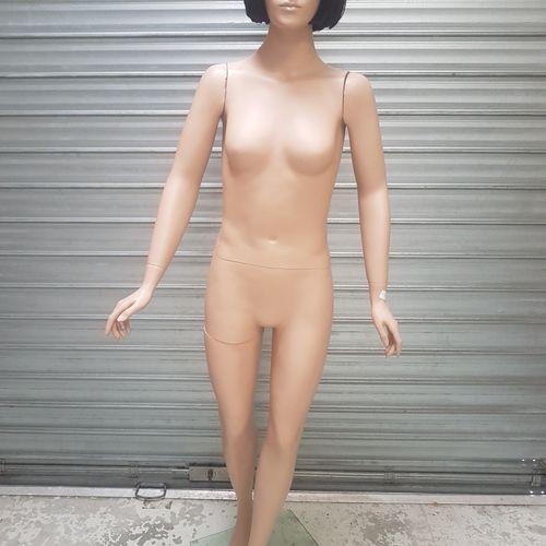 Mannequins femme en pied (plastique) et mannequin suspendu en plastique transluc…