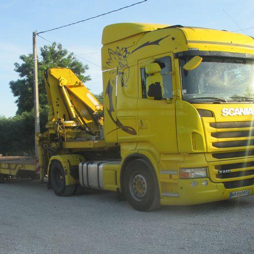 Tracteur routier SCANIA R440 (2010) (837000 Km) pneu avant neuf