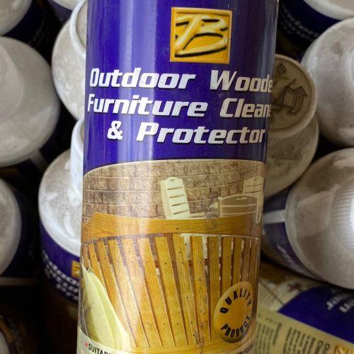 Lot de 19 bidons de rénovation et protection du bois extérieur