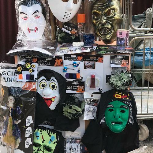 Palette de 188 pièces d'Halloween