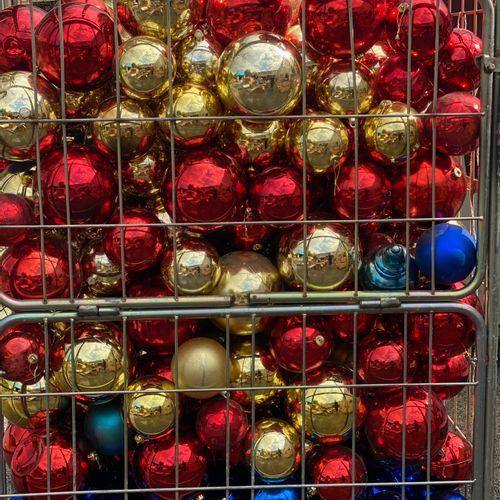 Lot de 300 énormes boules de Noël