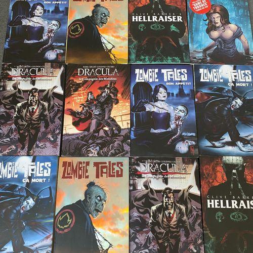 Lot de 24 bandes dessinées manga