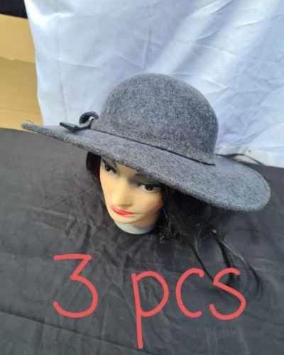 Lot de 3 chapeaux de qualité de luxe