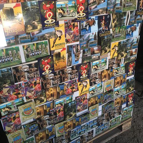 Lot de 4000 cartes postales différents modèles (possibilité d'avoir des doubles)