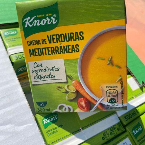 Lot de 40 soupes knorr dlc 01/2021