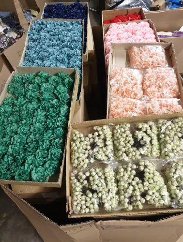 1 mètre cube de fleurs artificielles