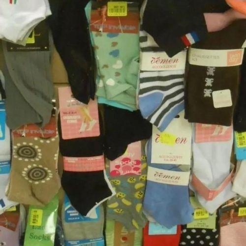 Palette de 300 paires de chaussettes