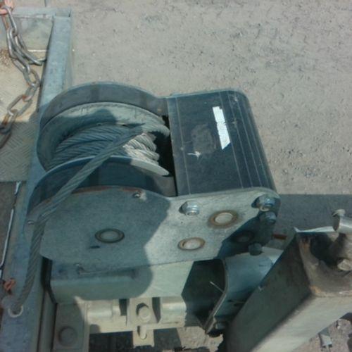REM HUBIERE REMORQUE PORTE NACELLE 2ESS PTAC 3.5 t CU 2.75 T Dmec : 07/03/2012 T…
