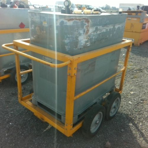 DIV GENERIC FUEL TANK 700 BED ON ROLLING TROLLEY VAT recoverable