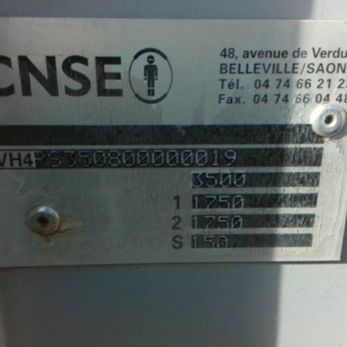 REM SNSE REM SHELTER 2 ESS 3500KG OF 2008 FOR PARTS WITHOUT GREEN CARD VAT recov…