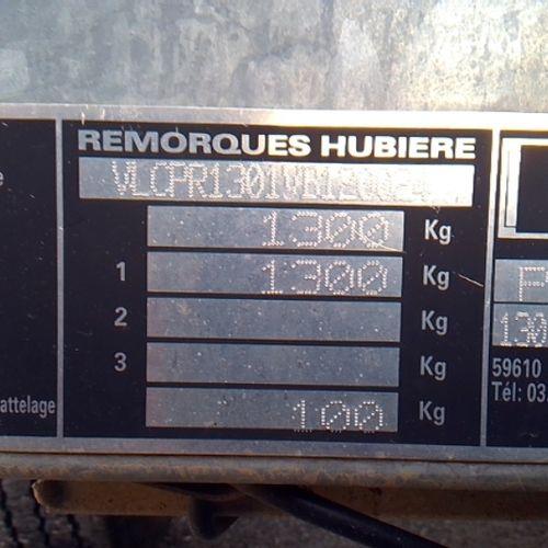 REM HUBIERE REMORQUE PORTE ROULEAUX VIBRANT Dmec : 23/02/2012 1Kms Bodywork : PO…