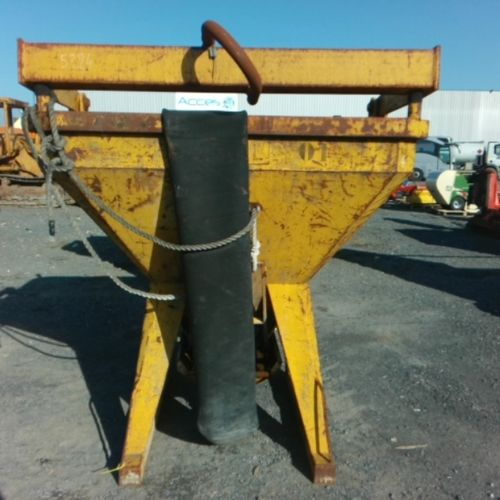 DIV SECATOL CONCRETE TIPPER 1250 LITRES VAT recoverable Equipment : WEIGHT 470 K…