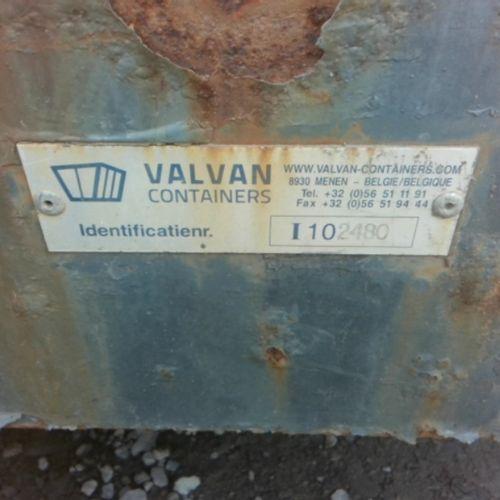 DIV VALVAN TIPPER AMPLIROLL 10M3 VAT recoverable