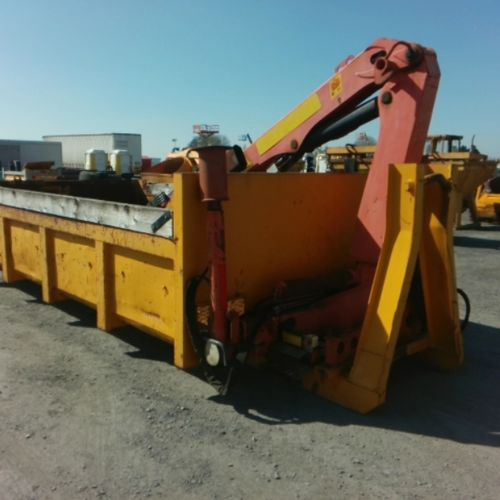 DIV GENERIC TIPPER AMPLIROLL WITH PALFINGER P80 CRANE FROM 1993 VAT recoverable