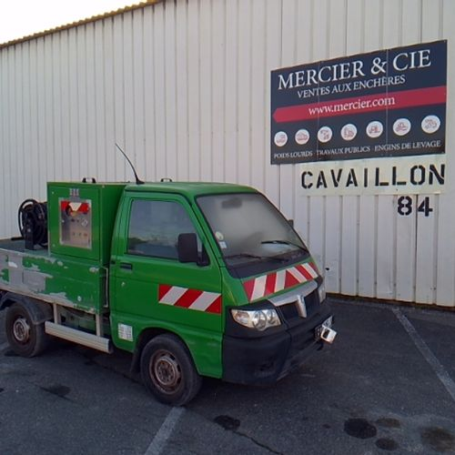 CTTE PIAGGIO S90 PORTER CHASSIS CLEANER HAUTE PRESSION Dmec: 22/06/2011 35893Kms…