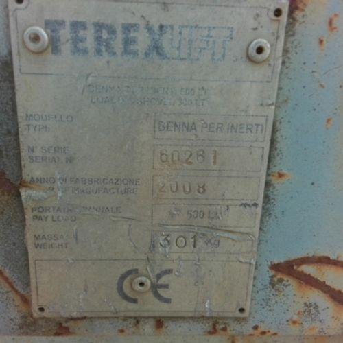 DIV TEREX TAN 500L 301KG YEAR 2008 VAT recoverable Equipment : /
