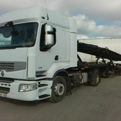 TRR RENAULT PREMUIM 450 DXI ALLIANCE Dmec: 22/10/2007 873042Kms Color: WHITE VAT…