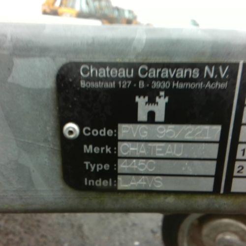 CA GENERIC CARAVAN CHATEAU 445 CHIARA Dmec: 30/06/1997 Color: WHITE Non recovera…